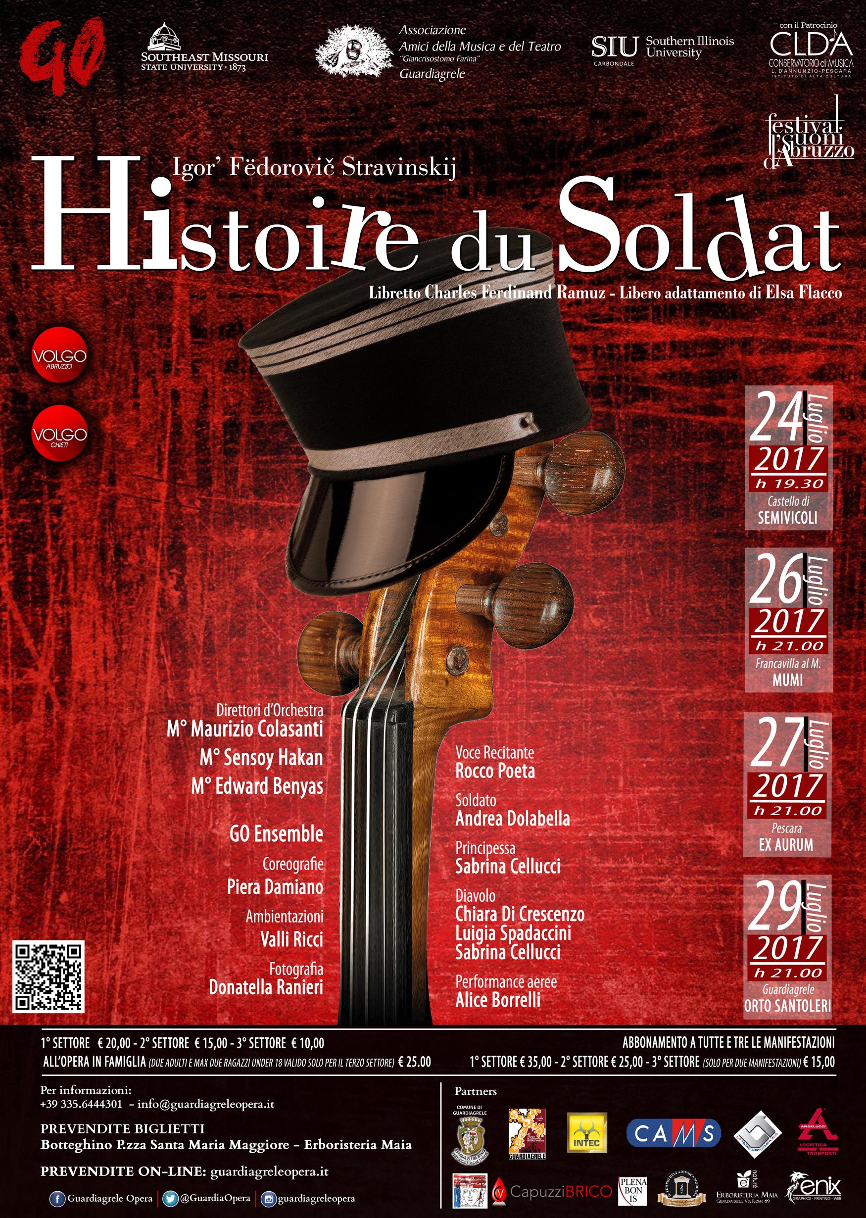Histoire Du Soldat, di Igor Stravinskij