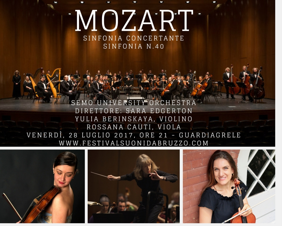 Mozart - Simphony n.40 & Sinfonia Concertante for Violin, Viola and Orchestra