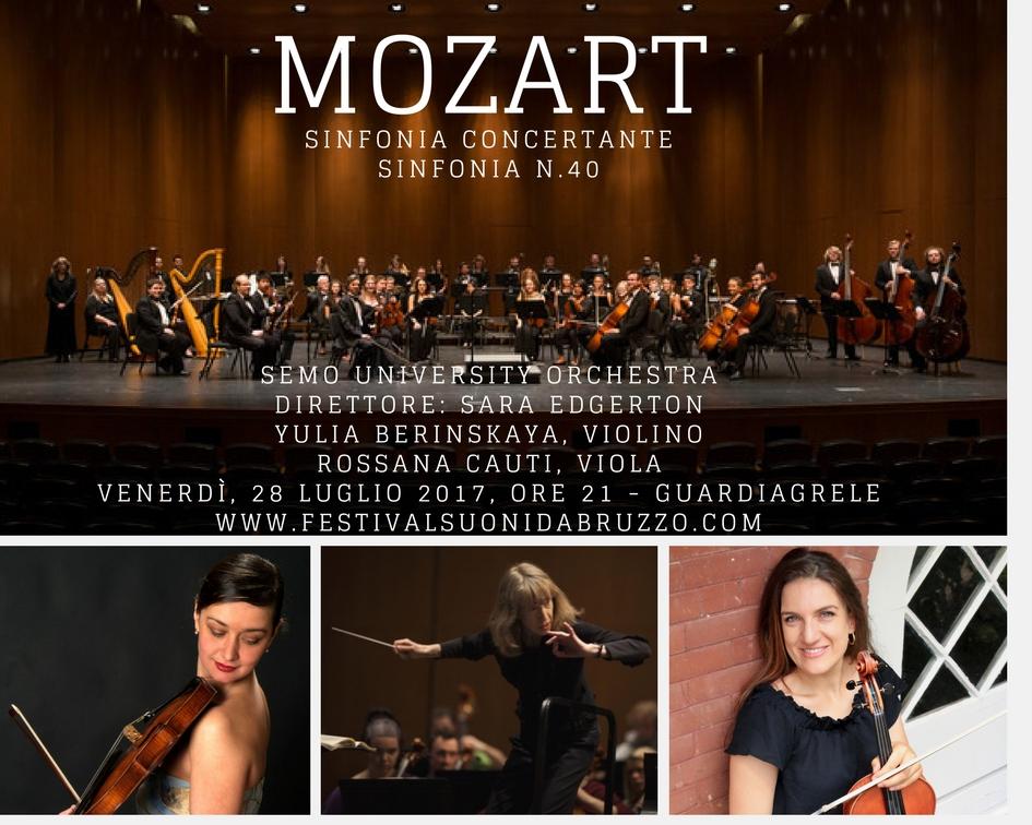 Mozart - Sinfonia n.40 & Sinfonia Concertante per Violino, Viola ed Orchestra