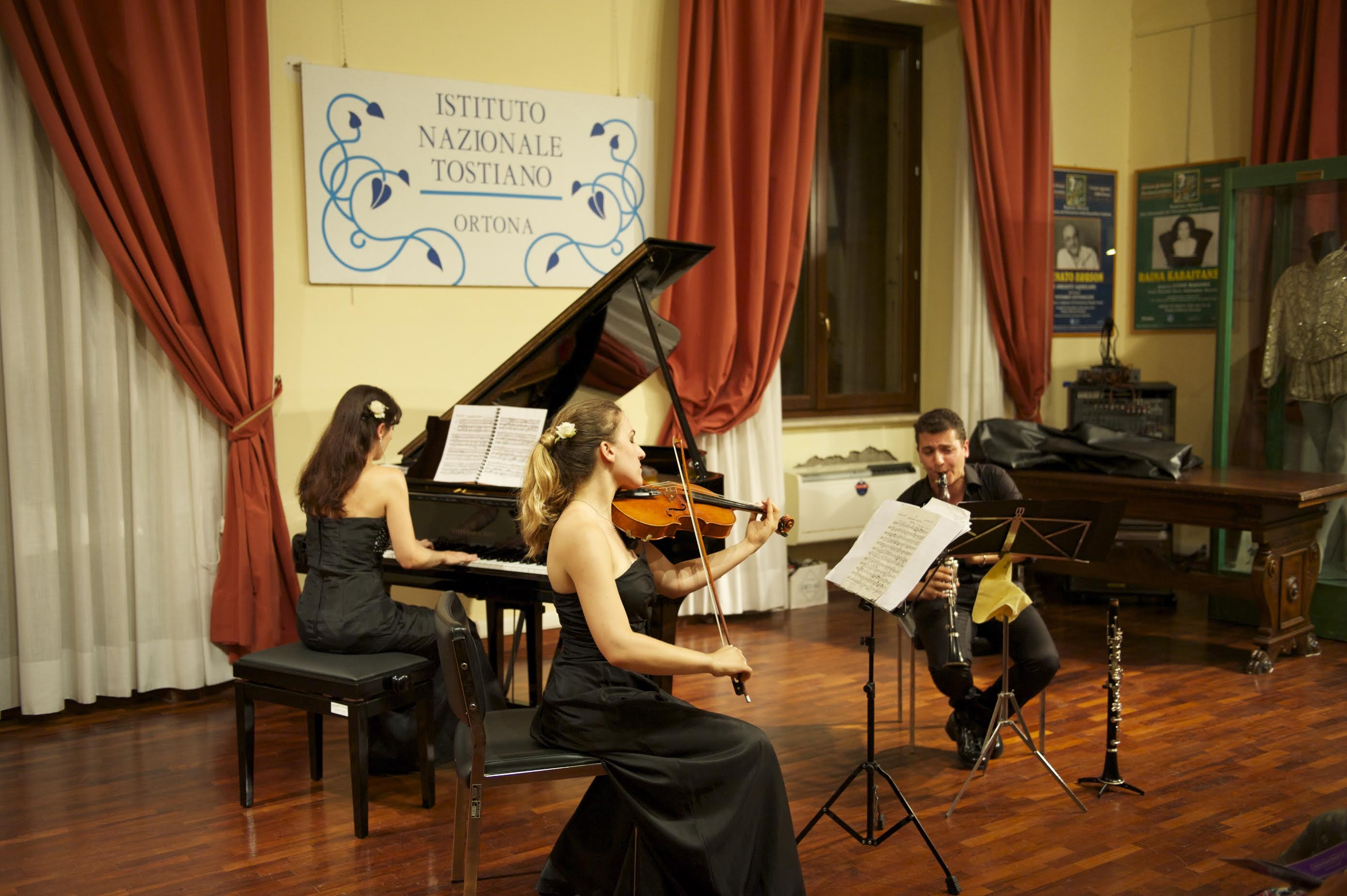 Concerto di Musica da camera - Istituto Nazionale Tostiano - Palazzo Corvo